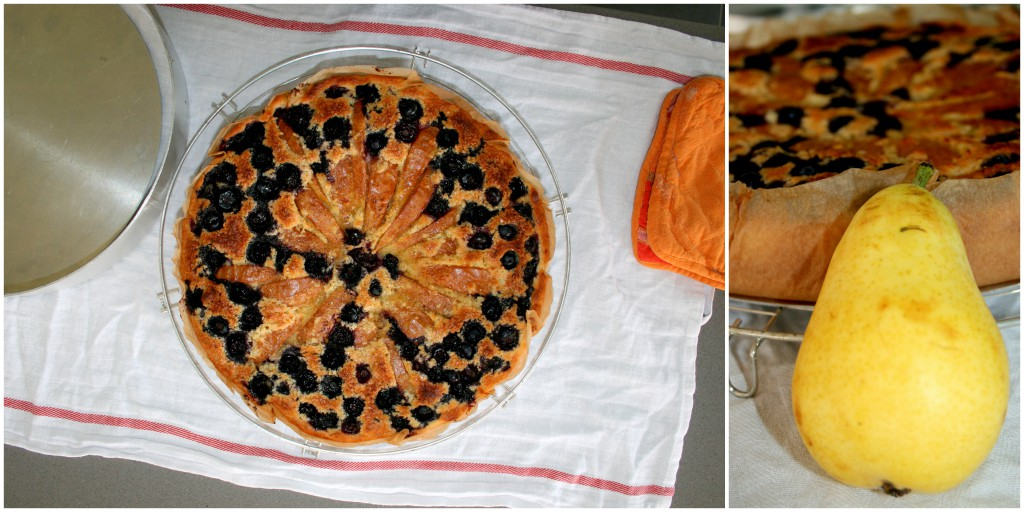 Crostata di pere e mirtilli (1)