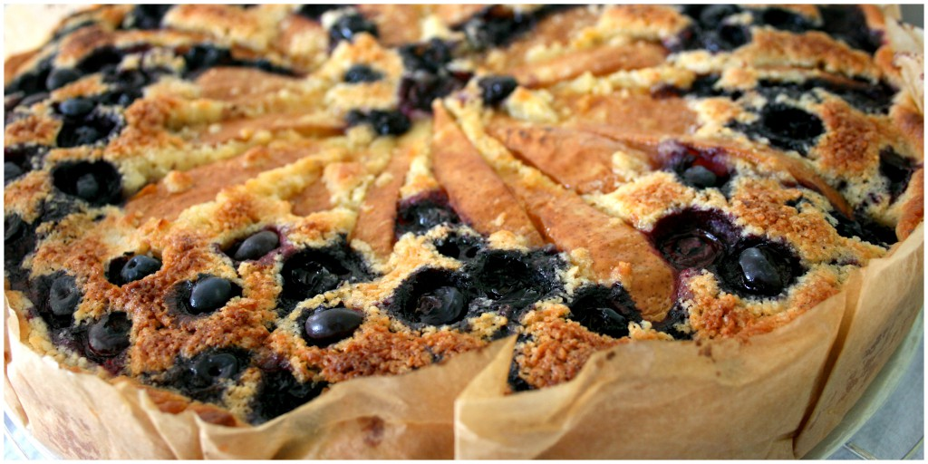 Crostata di pere e mirtilli (2)