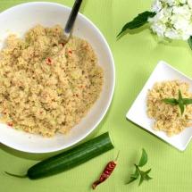 Grüner Couscous- Salat nach Biolek