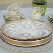 Johannisbeer-Baiser- Kuchen