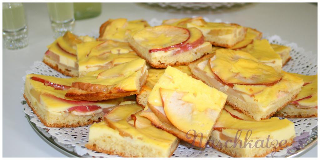 Apfelkuchen mit Limoncello- Guss3