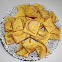 Apfelkuchen mit Limoncello-Guss