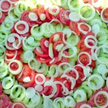 Griechischer Sommersalat