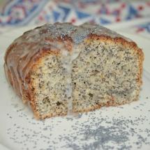 Mohn-Marzipan-Kuchen ohne Ei