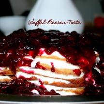 Waffel- Beeren- Torte