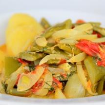 Bohnen- Curry- Gemüse nach Biolek & Witzigmann