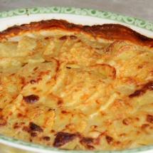Kartoffelgratin mit grobem Senf & Meerrettich