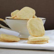 Vanille- Zitronen-Shortbread