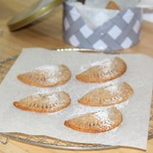 Mini hand pies_ Quittenmus-Taschen