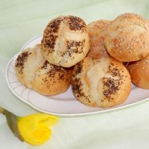 Guten Morgen-Dinkel-Brötchen mit Buttermilch