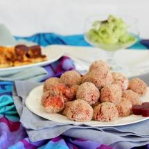 Buntes Kinder-Picknick-Menü