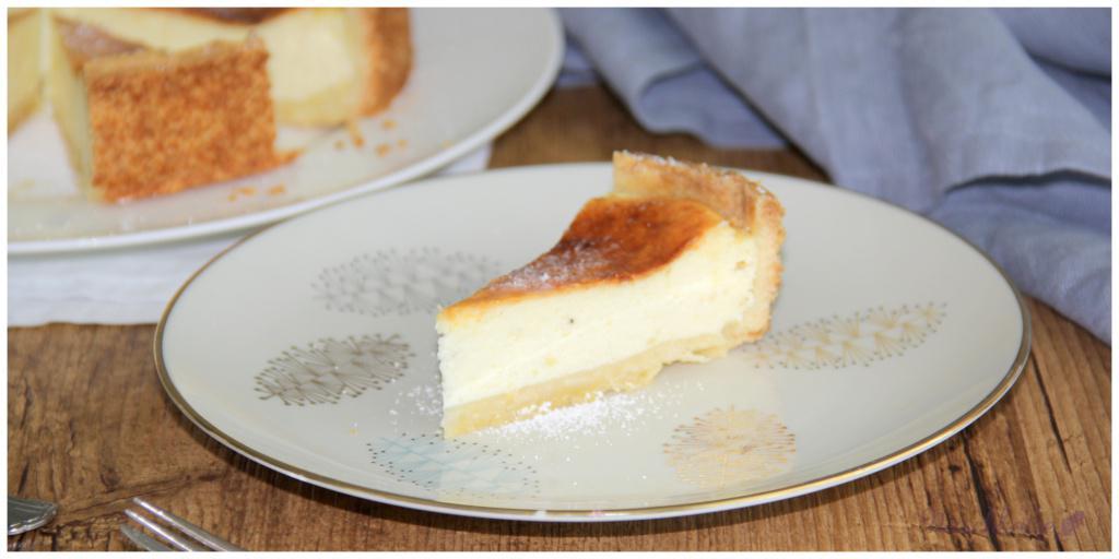 Käsekuchen mit Zitrone2