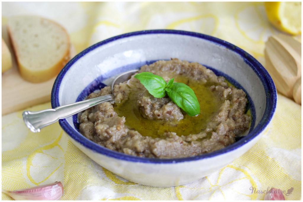 Auberginensalat, kretisch (4)