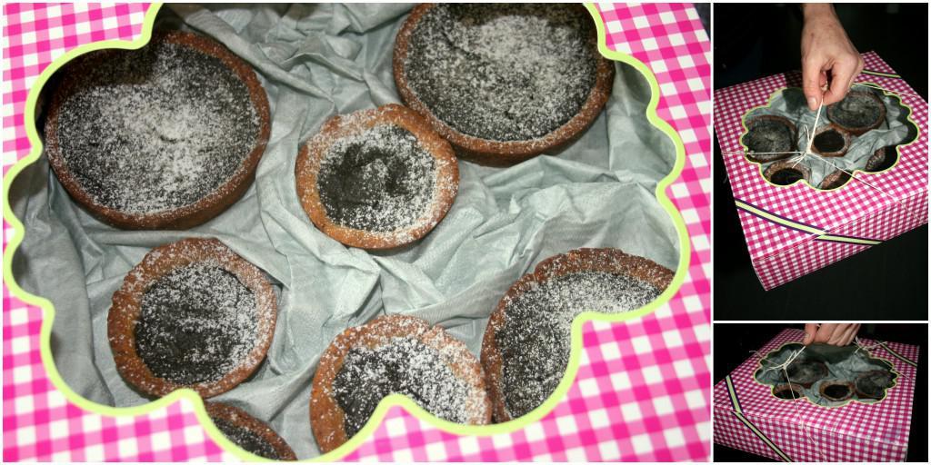 Schoko-Tartelettes mit Vollkorn-Mascobado-Mürbteig (3)