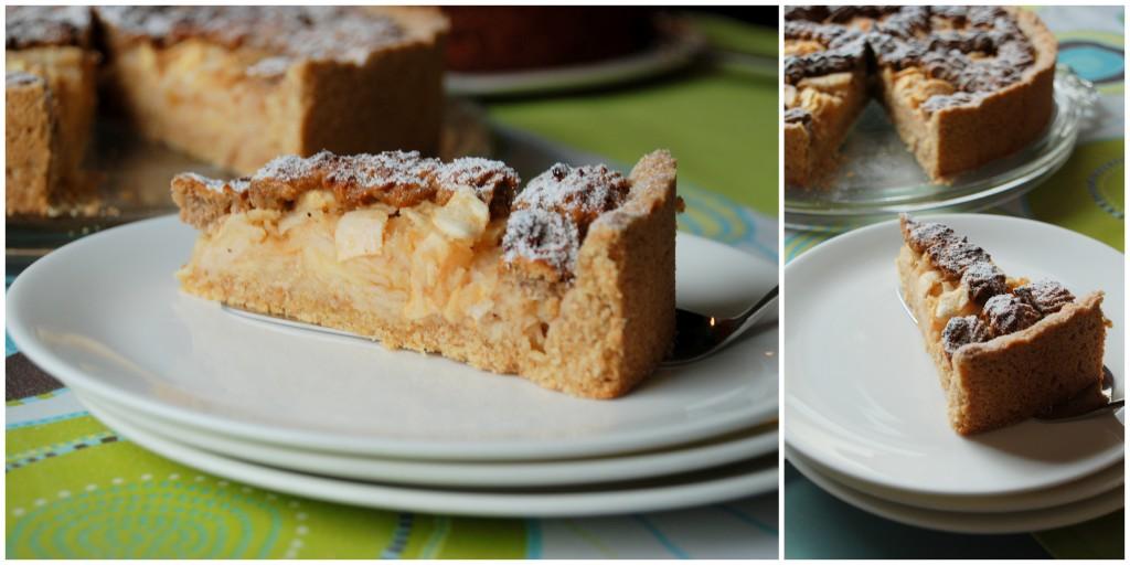 Apfelkuchen mit Rosinen-Nuss-Gitter2