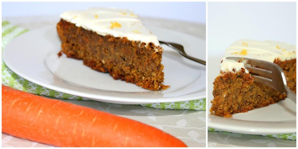 Karotten- Nuss- Kuchen mit Zitronenfrischkäse3