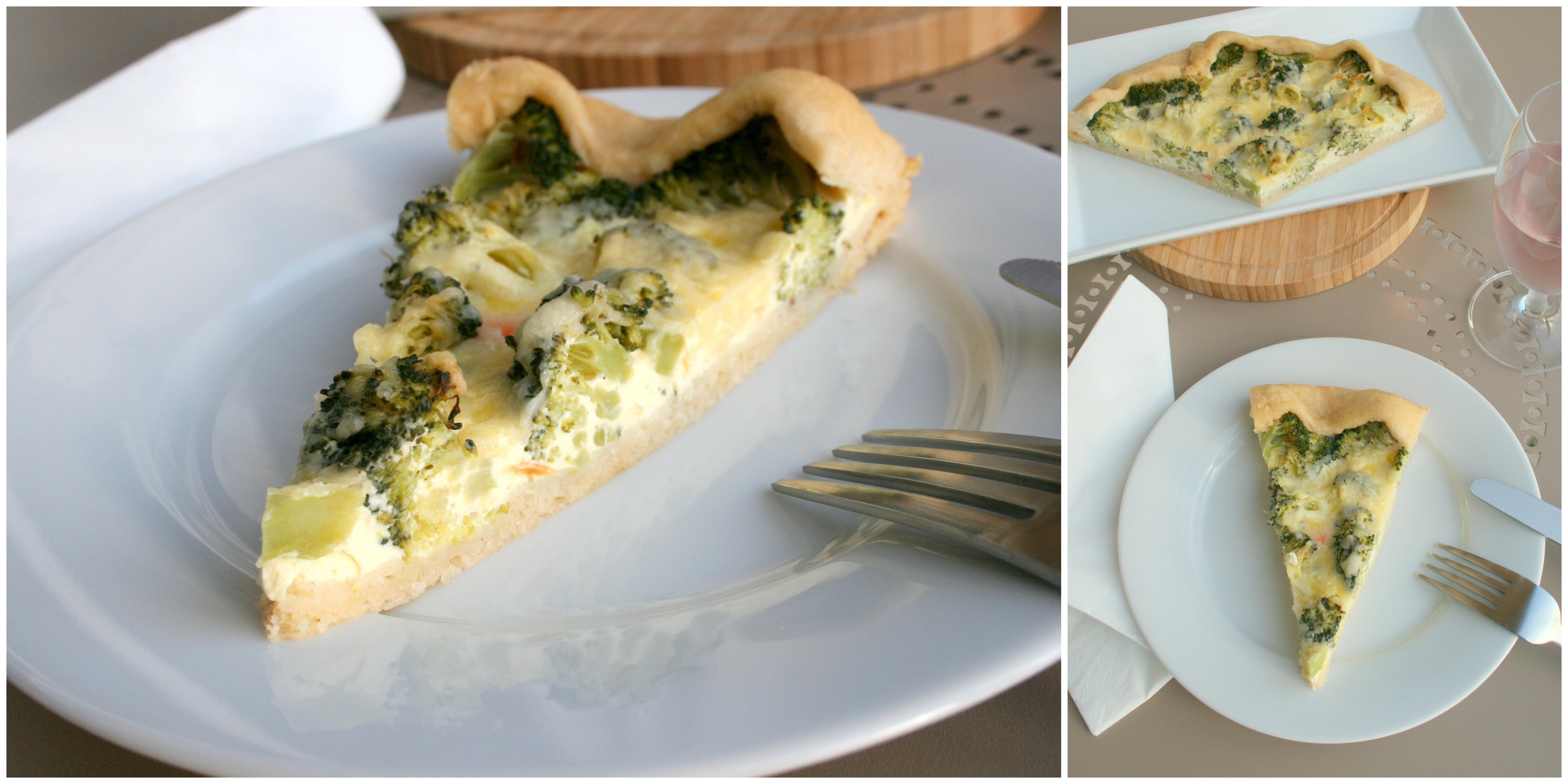 Broccoli Quiche Mit Quark öl Teig Naschkatze