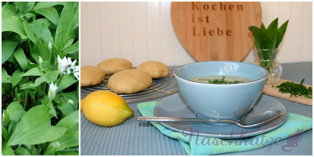 Bärlauch- Kartoffelsuppe
