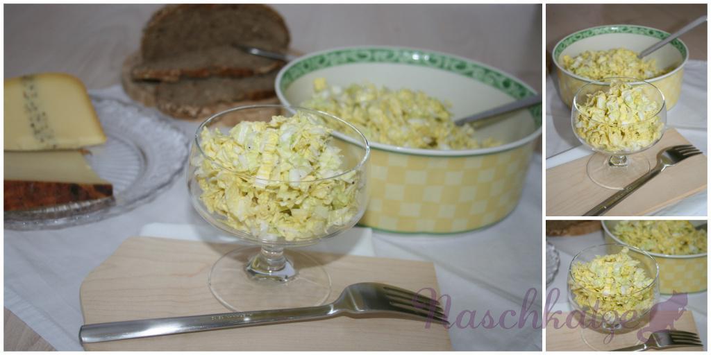 Chinakohl-Salat mit Schmand-Zitronen-Kreuzkümmel-Dressing1