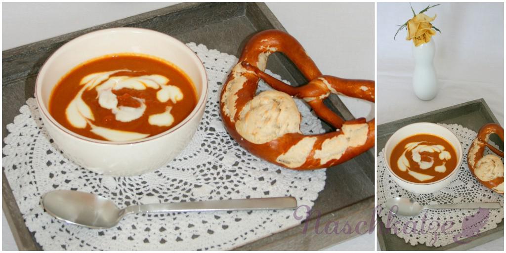 Karottensuppe mit Igwer, Curry und Mandarinensaft1