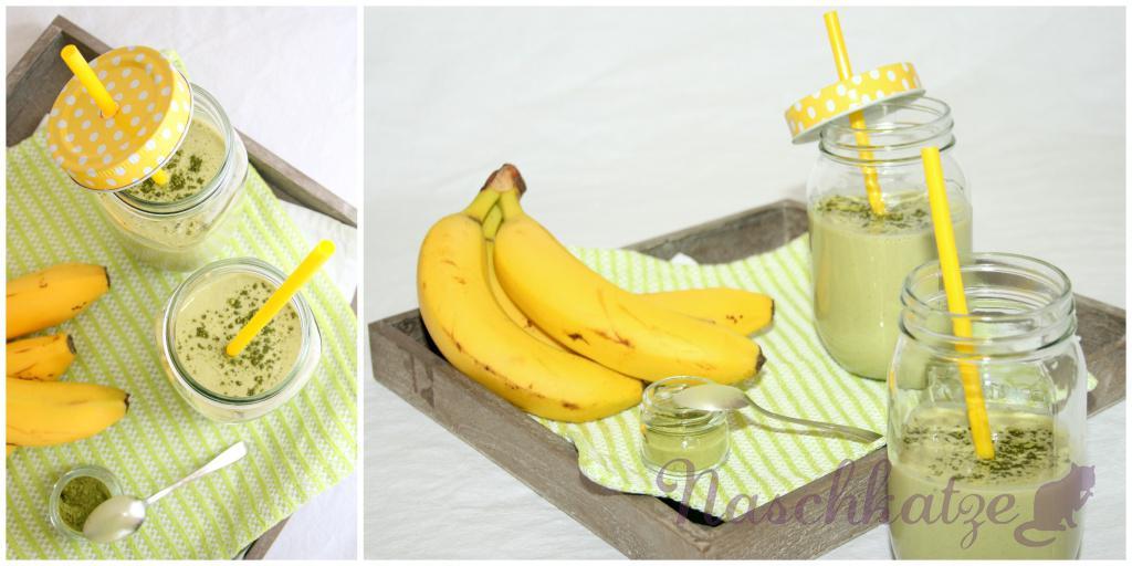 Matcha-Bananen-Kefir mit Zimt1