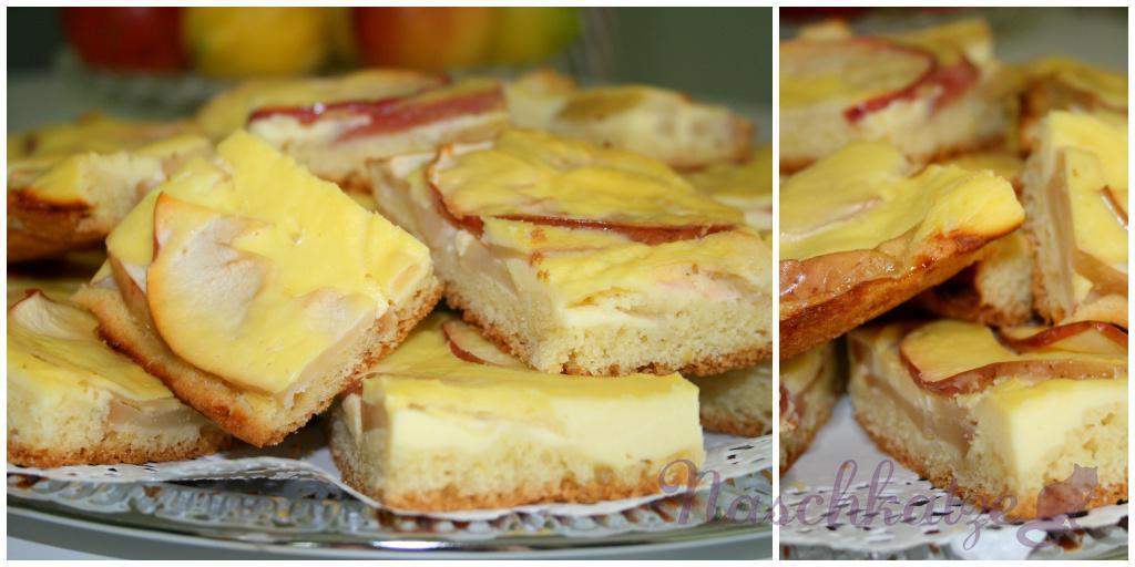 Apfelkuchen mit Limoncello- Guss1