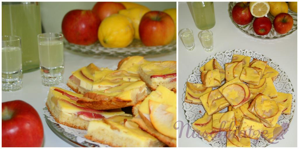Apfelkuchen mit Limoncello- Guss2