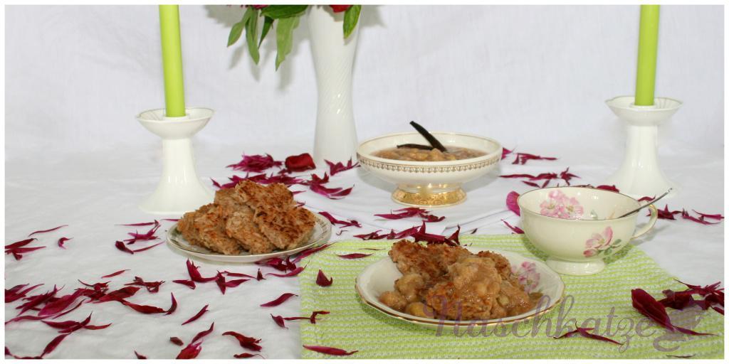 Milchreisplätzchen mit Vanille-Rhabarberragout1