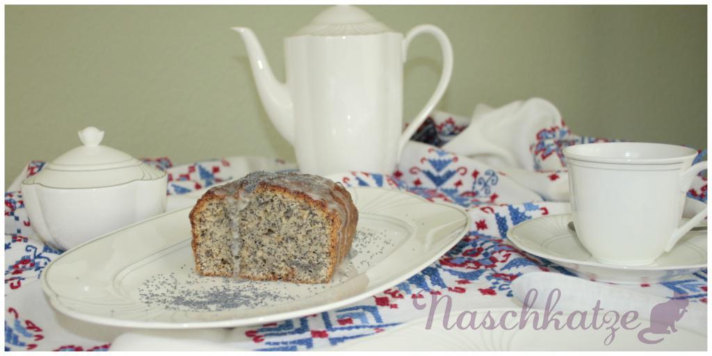 Saftiger Mohn-Marzipan-kuchen ohne Ei