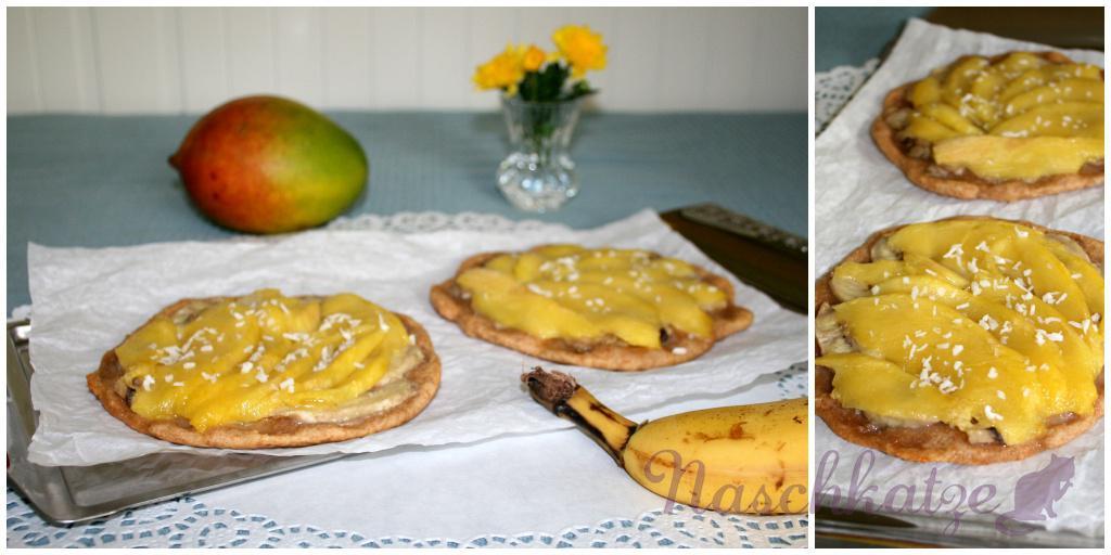 Mango- Bananen- Tartes1