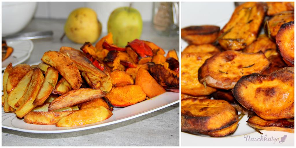 Kürbis, Süßkartoffel & Kartoffel aus dem Ofen1 (2)