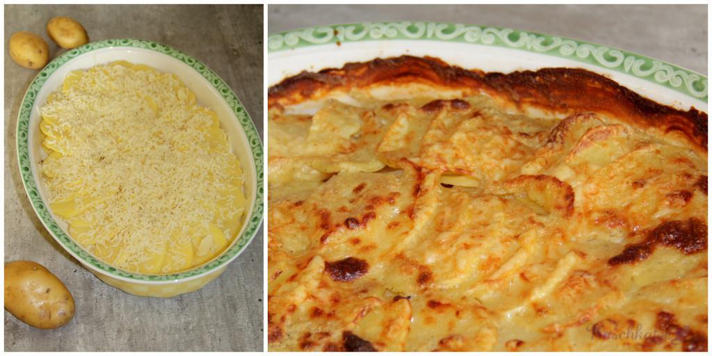 Kartoffelgratin mit Senf und Meerrettich1