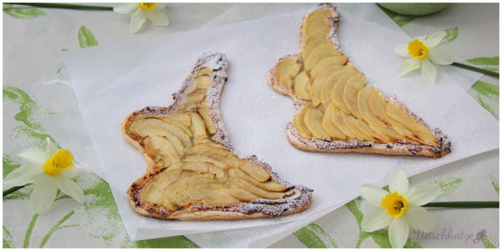 Apfeltarte-Osterhasen