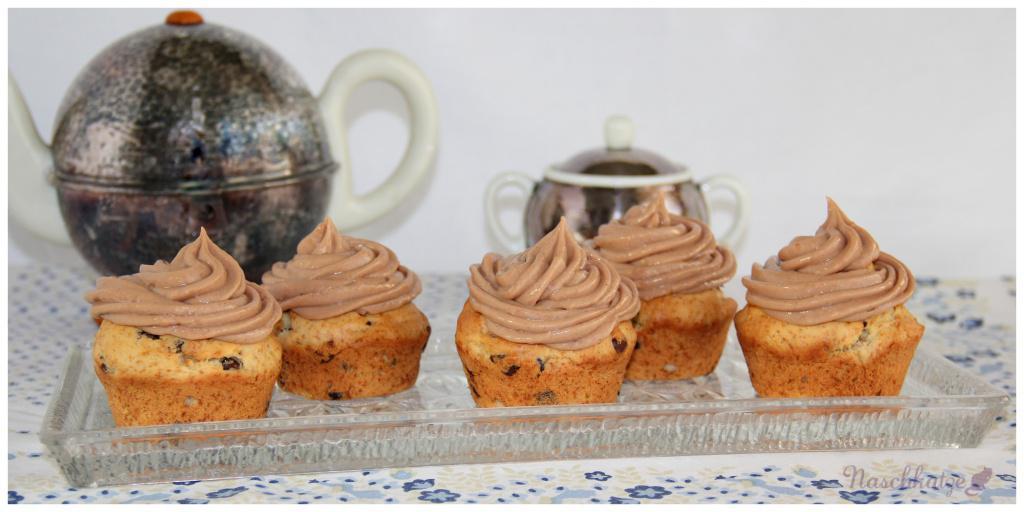 Bananen-Nougat- Cupcakes (2)