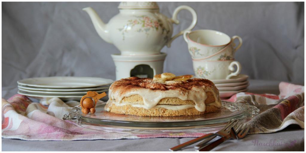 Bananen-Vanille-Joghurt-Torte