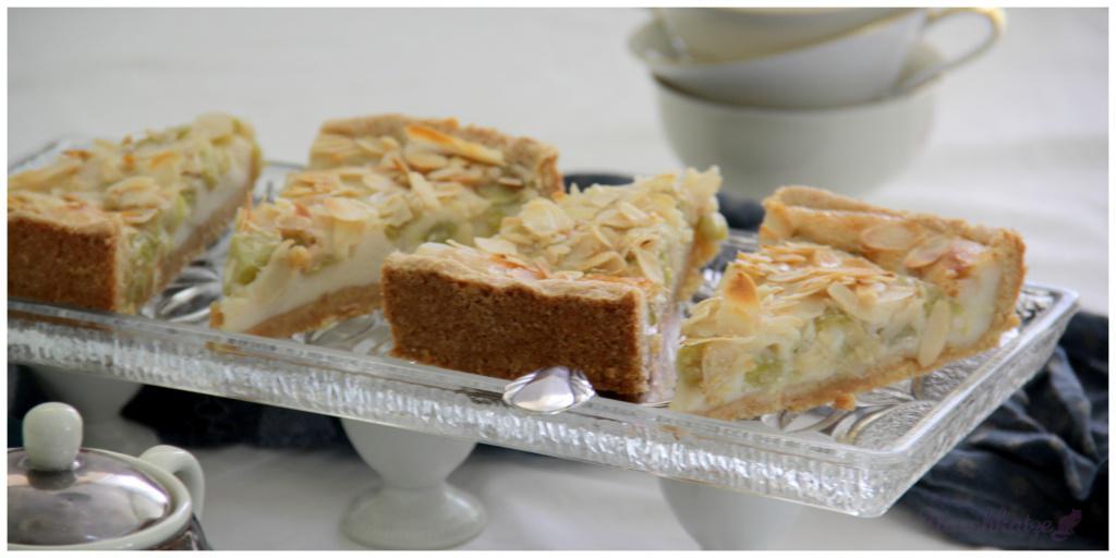 Rhabarberkuchen mit Guss und Mandeldecke_vegan4