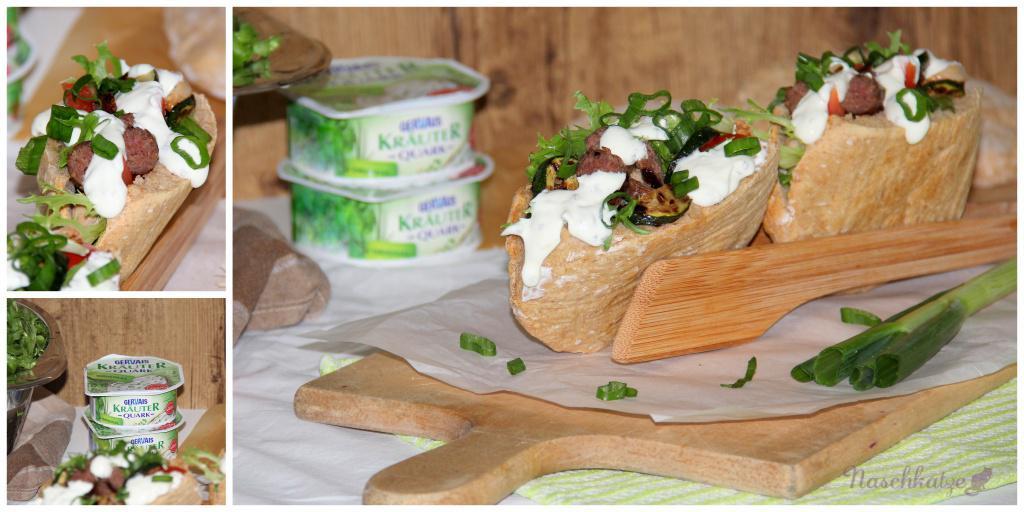 Grill-Döner mit Zucchini und Kräuterquark (4)