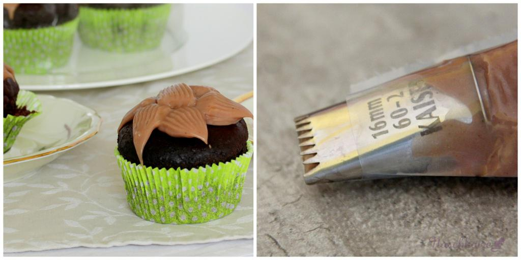 Schoko-Marzipan-Cupcakes mit Amaretto-Creme3