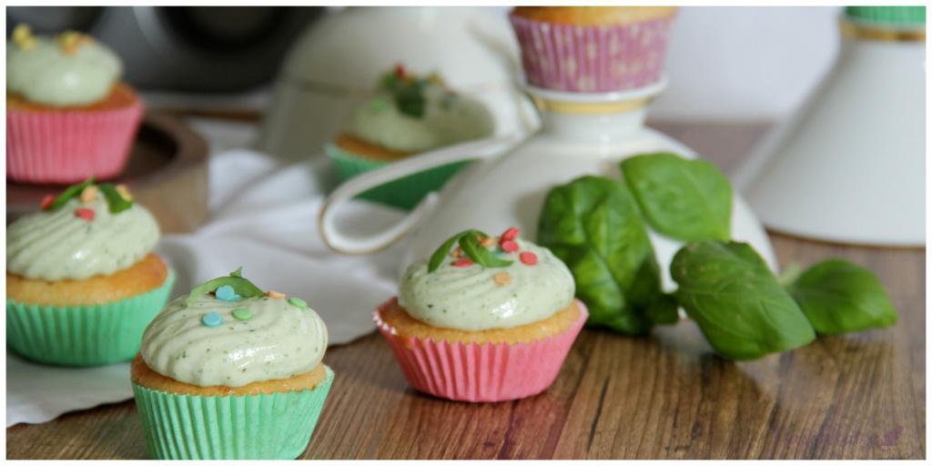 Zitronencupcakes mit Basilikumcreme_vegan4