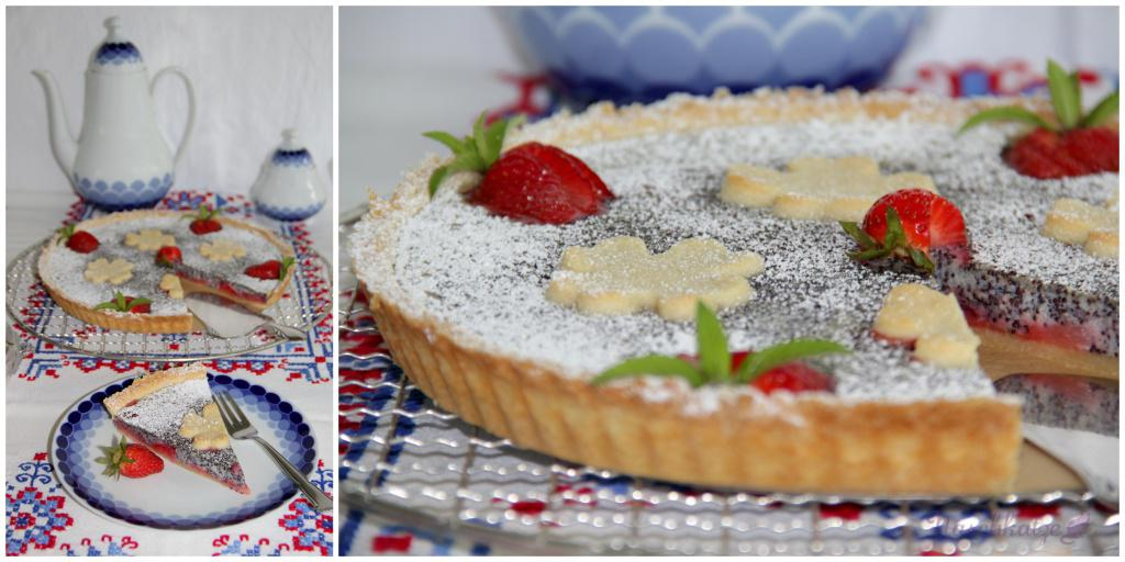 Erdbeer-Mohn-Tarte (1)