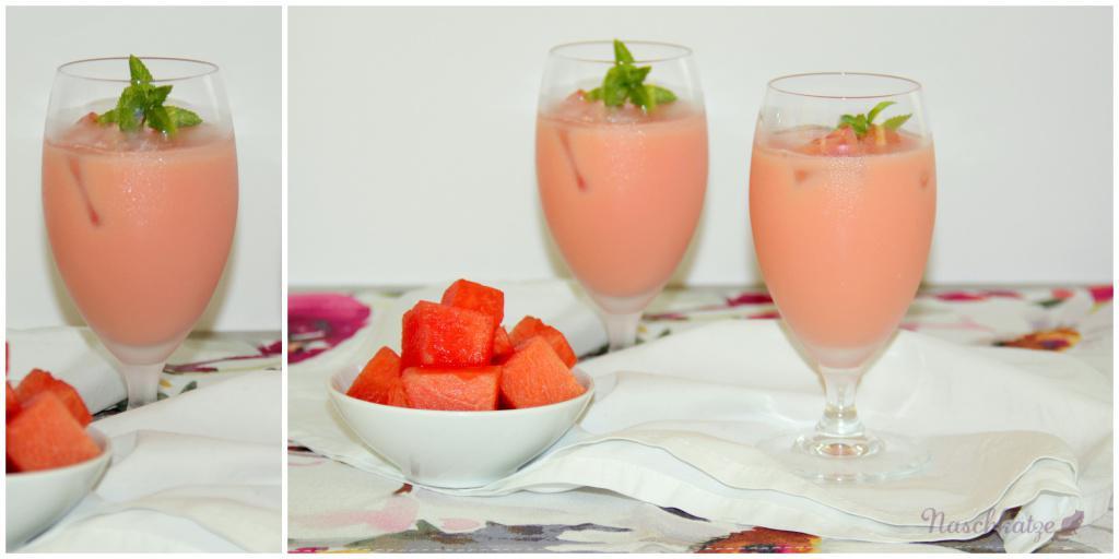 Wassermelonen-Joghurt-Drink (1)