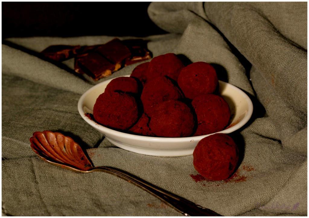 Trüffel mit Cranberries (1)