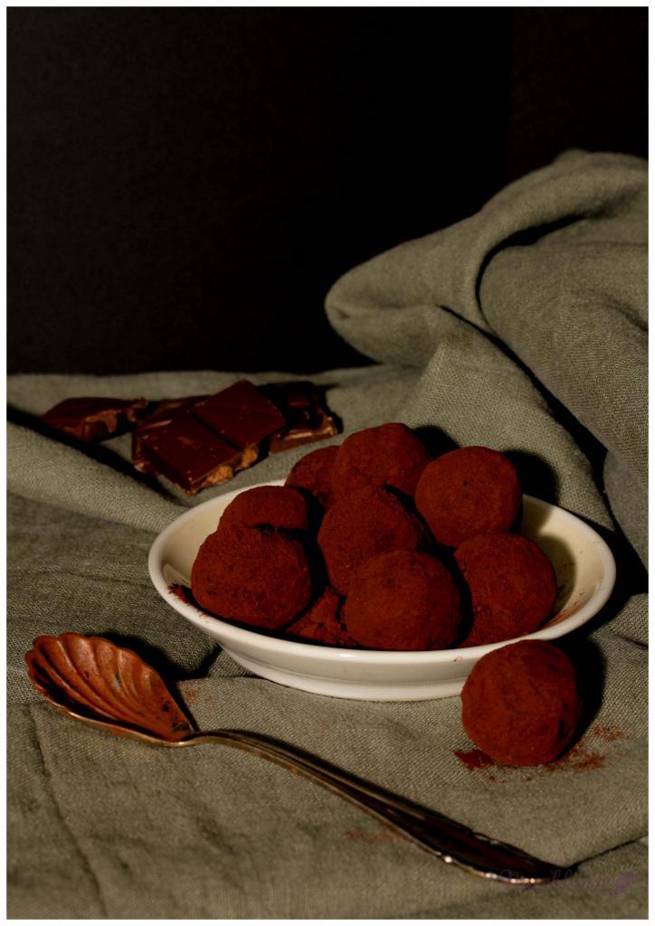 Trüffel mit Cranberries (2)