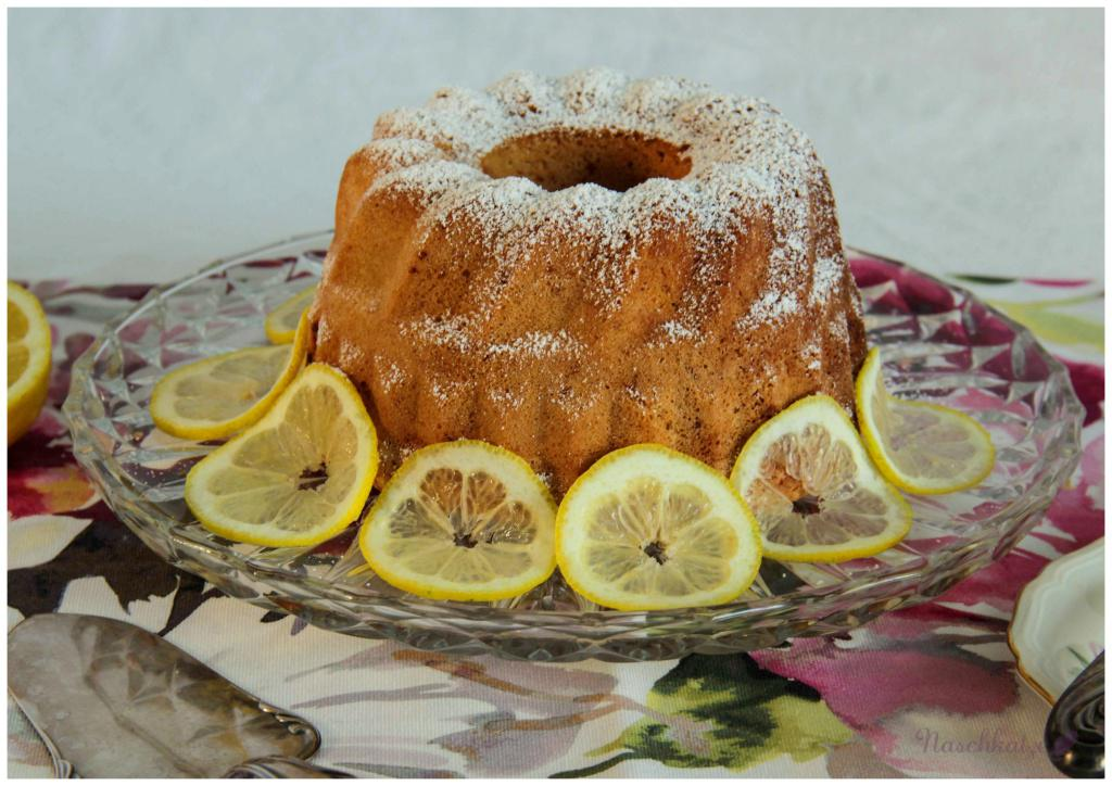 Zitronengugel mit Frischkäsekern (1)