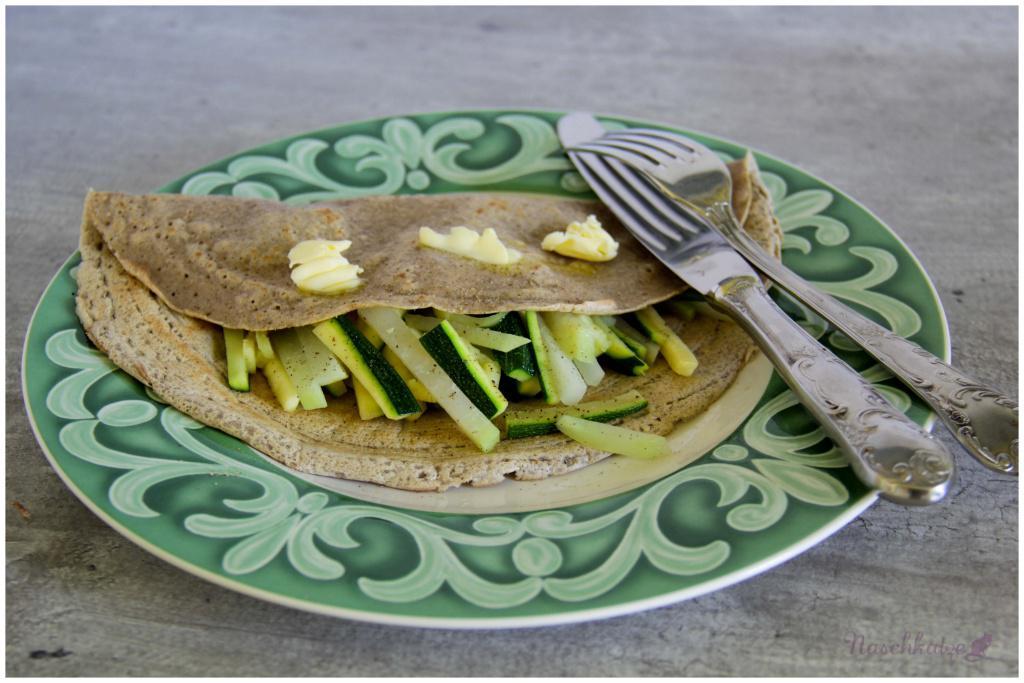 Buchweizenpfannkuchen mit Gemüse (1)