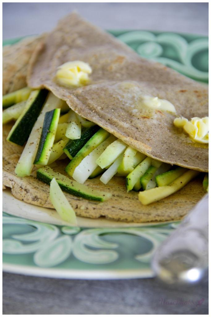 Buchweizenpfannkuchen mit Gemüse (2)